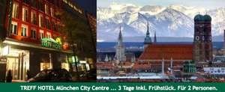 München Kurzurlaub für 88€ - 3 Tage inkl. Frühstück für 2 Personen