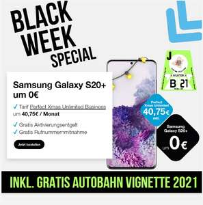BLACK WEEK AKTION: Tarif Perfect Xmas Unlimited um 40,75 € / Monat + GRATIS VIGNETTE