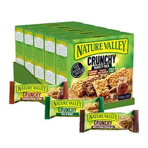50 Riegel Nature Valley Crunchy Variety Pack, Müsliriegel