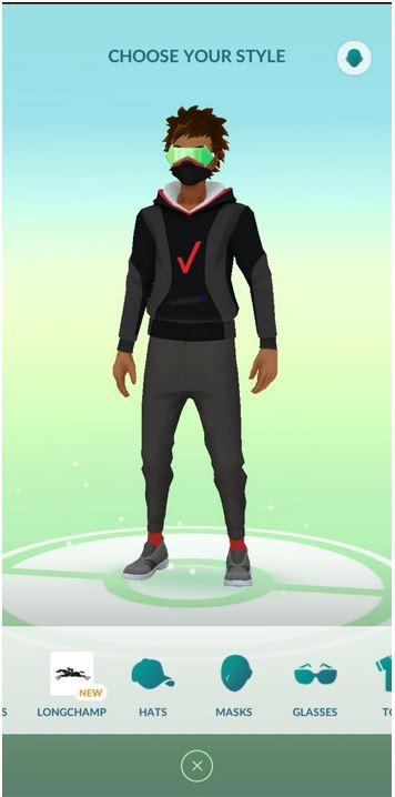 Pokemon GO gratis Outfit