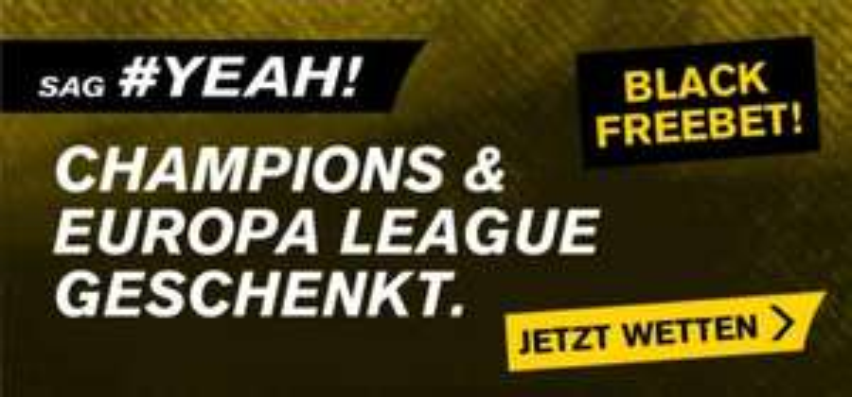 Interwetten: 11€ Freebet (Champions League und Europa League)