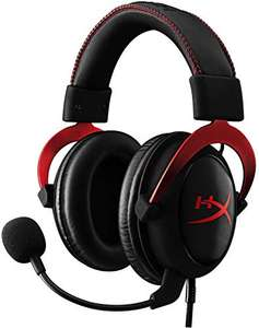 [Amazon] Kingston HyperX Cloud II rot / schwarz Gaming Headset um nur 51,42€