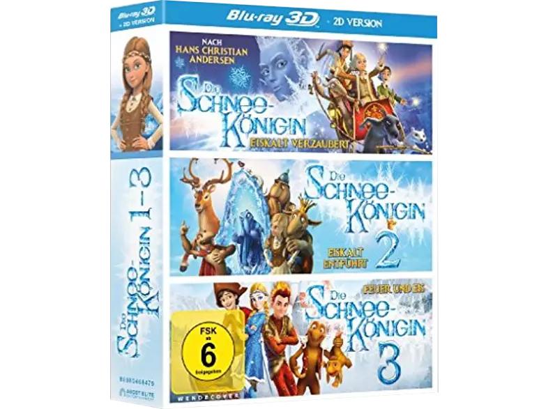 Die Schneekönigin 1-3 [3D Blu-ray (+2D)]