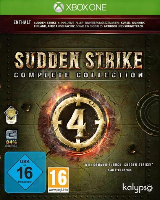 """""""Sudden Strike 4 Complete Collection"""" (XBOX ONE) zum Schlag(er)Preis bei Media Markt"""