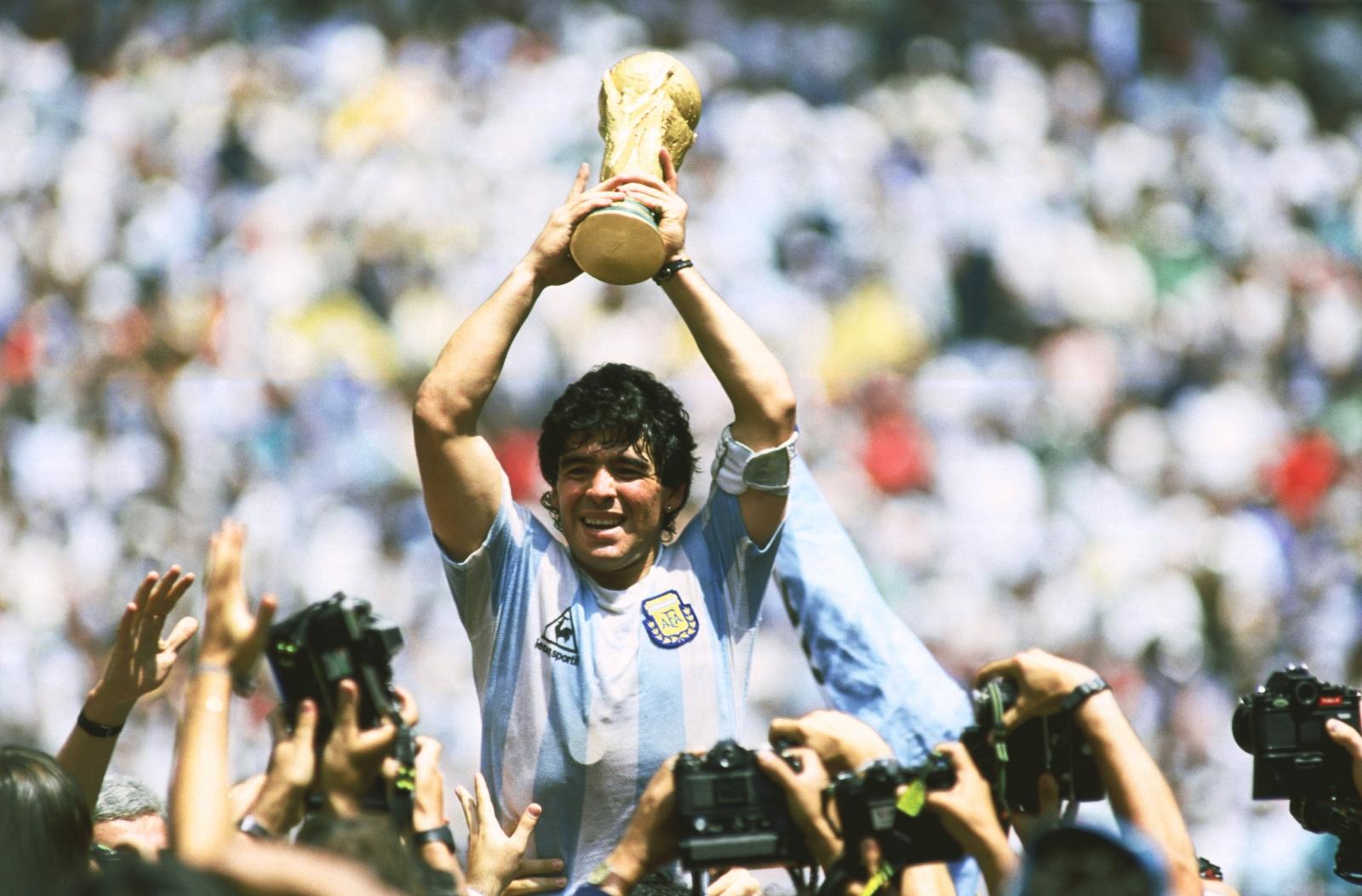 Fußball WM Finale 1986 - Argentinien gegen Deutschland