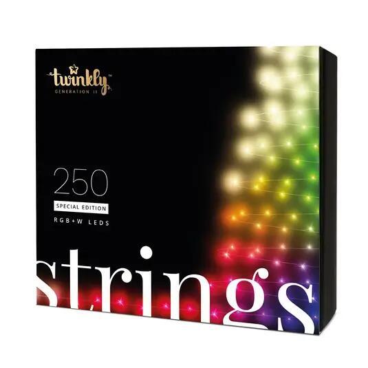 Außergewöhnliche Lichterkette fürs Weihnachtsfest - Twinkly 250 LED RGBW Special Edition