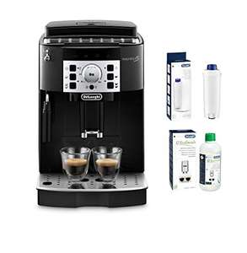 Delonghi Kaffeevollautomat mit Entkalker und Wasserfilter