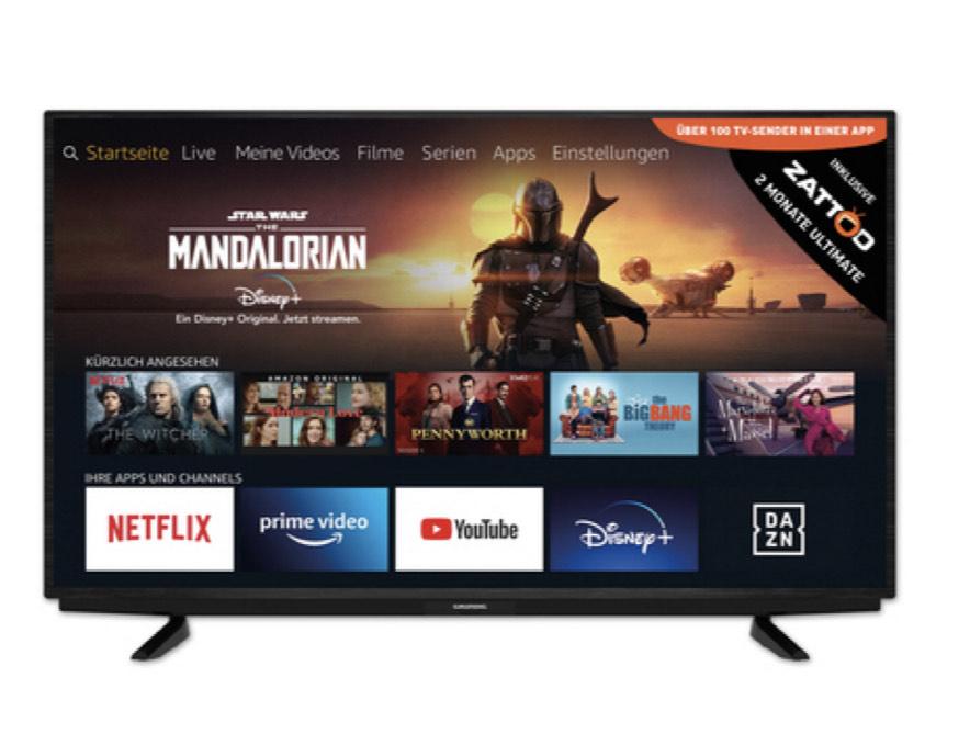 "Grundig 4K Ultra HD Smart TV 50"""