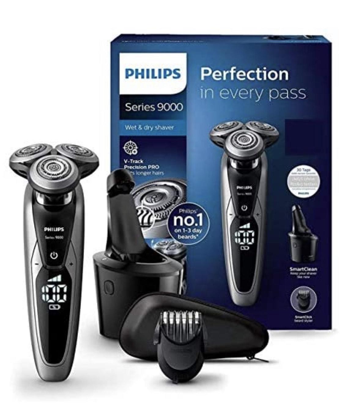 [Amazon] Philips S9711/31 Elektrischer Nass- und Trockenrasierer (BESTPREIS)