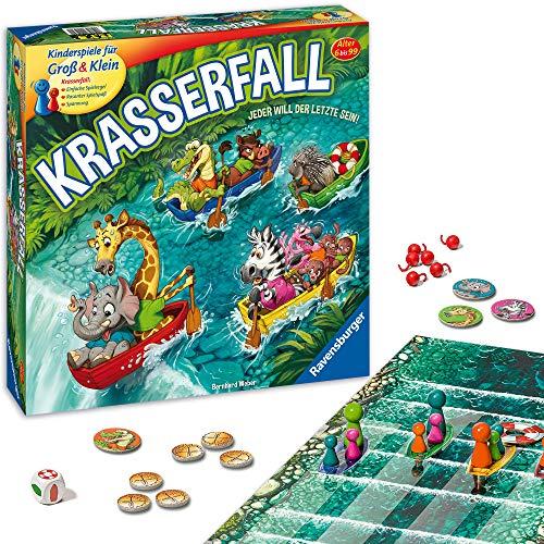 Ravensburger - 20569 - Krasserfall - rasantes Brettspiel für Familien und Kinder