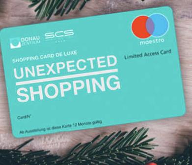5% auf Shopping City Süd/Donauzentrum Gutscheine ab 100€ - 5% auf Amazon-Gutscheine möglich!