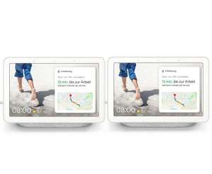 Google Nest Hub 2er-Pack - Smart Display mit Sprachsteuerung