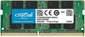 [Amazon] Crucial CT8G4SFRA266 8GB Speicher (DDR4, 2666 MT/s, PC4-21300, SODIMM, 260-Pin)