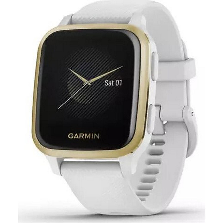 Garmin Venu SQ white/light gold