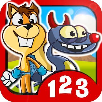 MonsterZahlen Vollversion: Mathe für Kinder (Android) gratis im Google PlayStore - ohne Werbung / ohne InApp-Käufe -