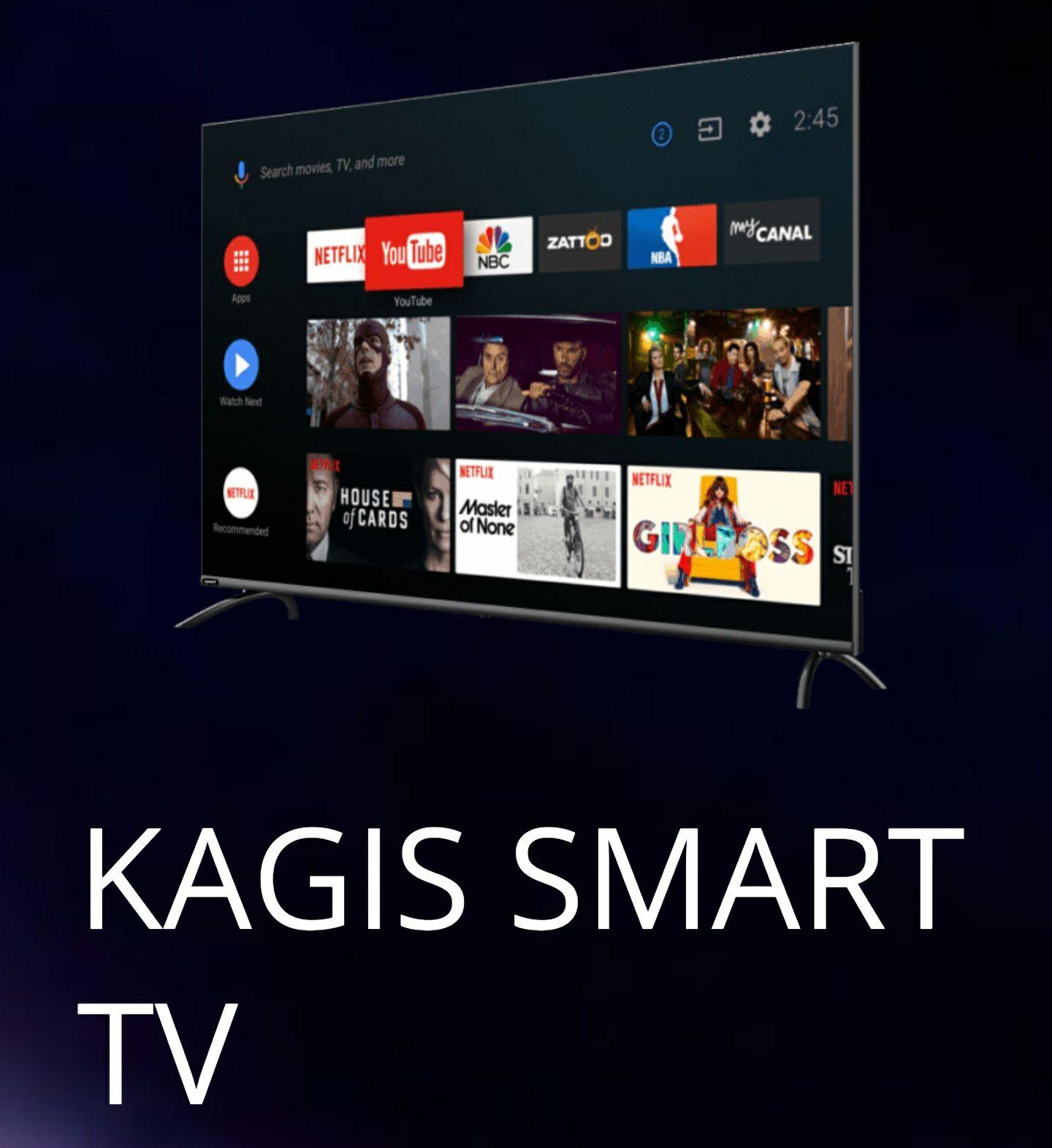 "KAGIS - 55"" 4K Smart TV"