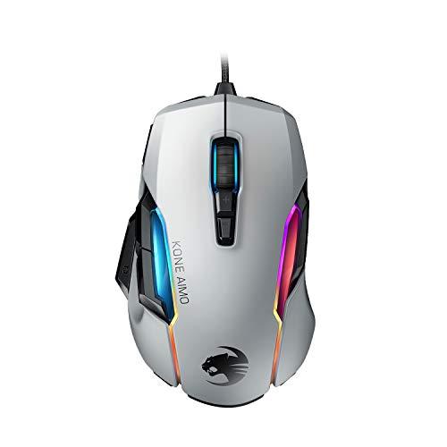 Roccat Kone AIMO Gaming Maus (hohe Präzision, Optischer Owl-Eye Sensor (100 bis 16.000 Dpi)