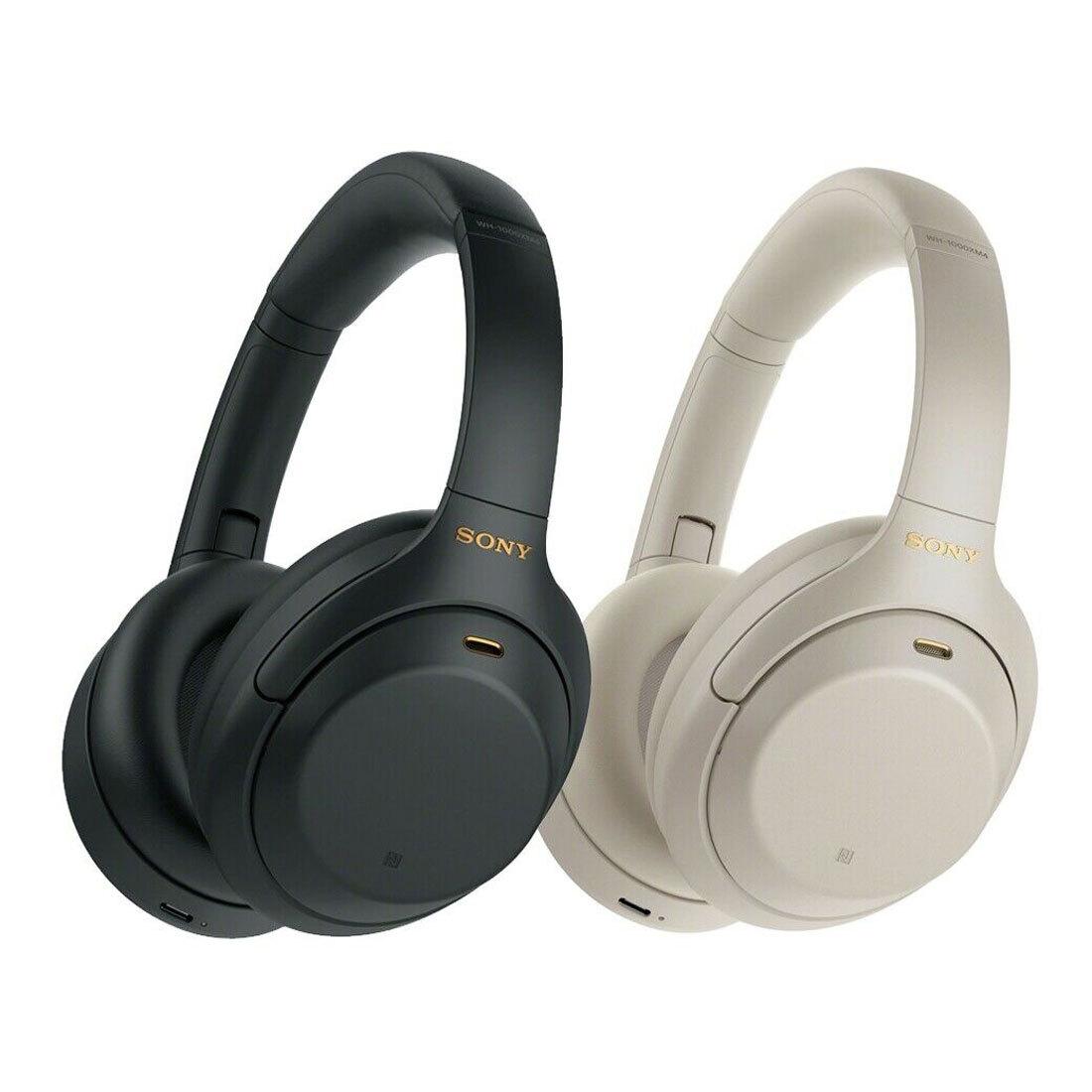 Sony WH-1000XM4 Bluetooth Kopfhörer, silber oder schwarz
