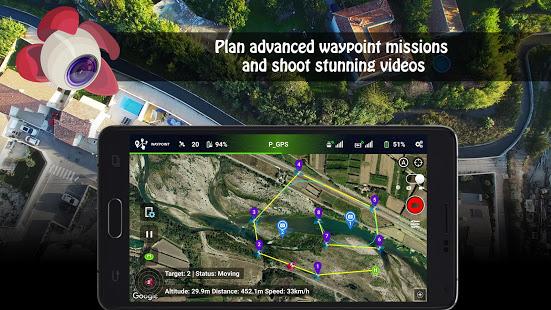 [Android & iOS] Litchi App für DJI Drohnen (Waypoints, Tracking, Panorama, VR mode, ...)