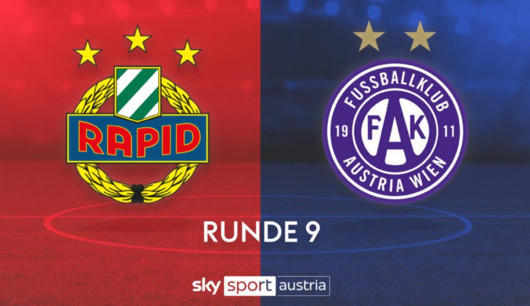 Sky Sport Austria: Wiener Derby SK Rapid vs. Austria Wien live frei empfangbar 29.11 17:00