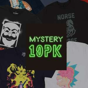 Mystery Geek T-Shirts 10er-Pack