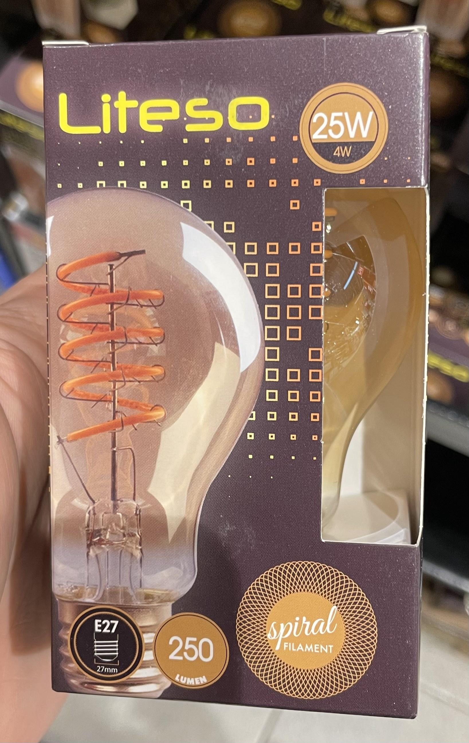 Interspar LED Vintage Lampen div. Sorten zum Hammerpreis nur LOKAL