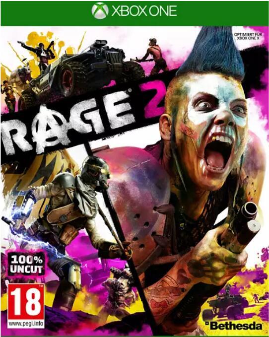 Rage 2 - (PS 4 / Xbox One) zum Ausrasterpreis bei Media Markt