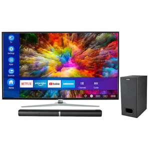 "MEDION LIFE X14350 43"" Ultra HD Smart-TV + LIFE P61220 TV-Soundbar mit Subwoofer"