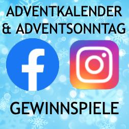 Adventkalender/Adventsonntag Gewinnspiele auf Facebook & Instagram
