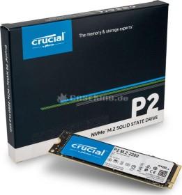 Crucial P2 NVMe SSD 1 TB - 3D NAND TLC M.2 PCIe Gen.3