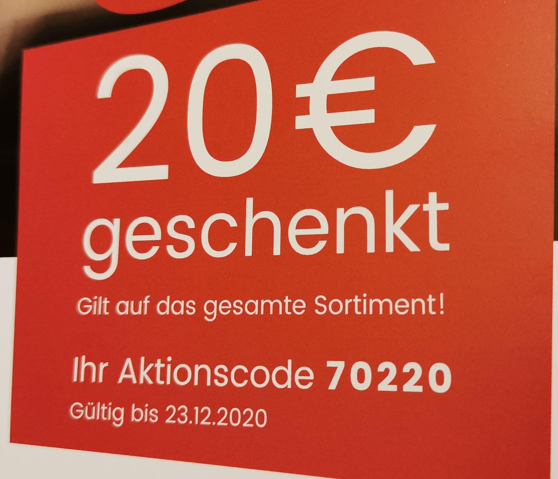 20€ Rabatt ab 75€ MBW bei UNIVERSAL