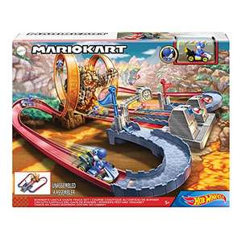 """Preisjäger Junior: Mattel Hot Wheels Mario Kart """"Bowsers Festung"""""""