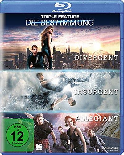 Triple Feature: Die Bestimmung (Divergent, Insurgent, Allegiant) [Blu-ray]