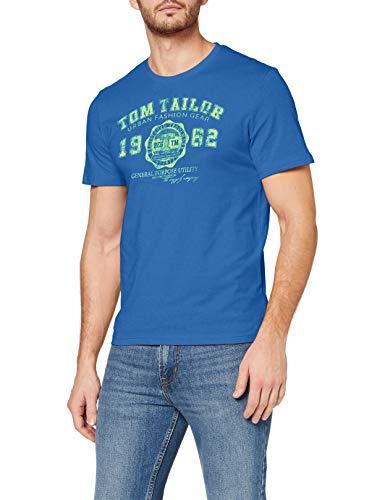 TOM TAILOR Herren Casual Logo T-Shirt Gr: S - XXL