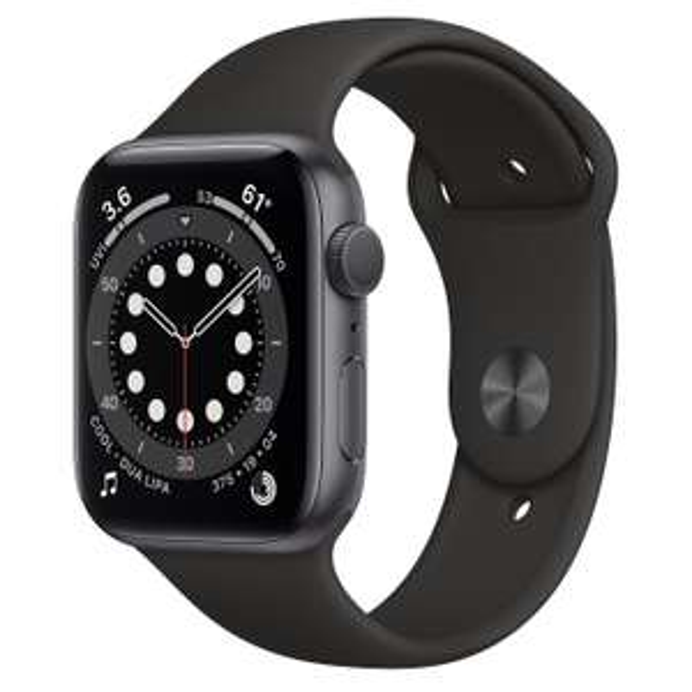 Apple Watch Series 6 GPS - 40mm Space Grau Aluminum