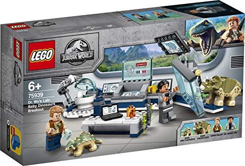 LEGO Jurassic World - Dr. Wus Labor: Ausbruch der Baby-Dinosaurier
