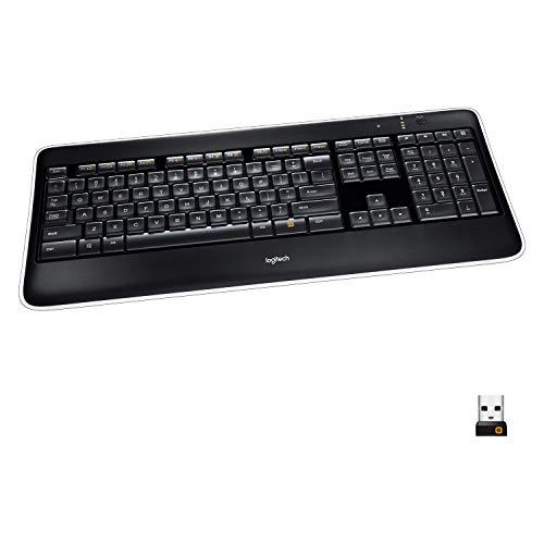 Logitech K800 Kabellose Tastatur