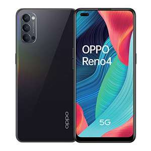OPPO Reno4 5G Smartphone 8/128 GB Galactic Blue Dual-SIM Android 10.0