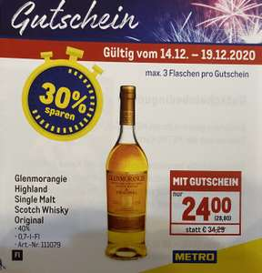 [METRO] Glenmorangie Original Single Malt Scotch Whisky 0,7l