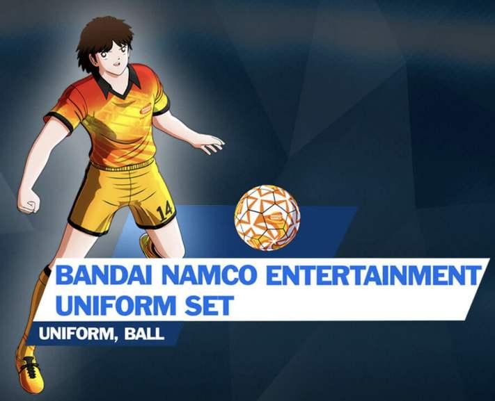 """Captain Tsubasa: Rise of New Champions - BANDAI NAMCO Uniform Set DLC"" kostenlos (PS4 / Nintendo Switch / Steam)"