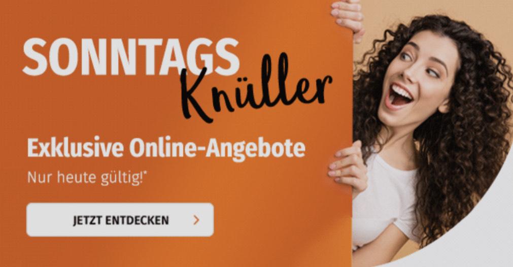 Sonntagsangebote bei Müller