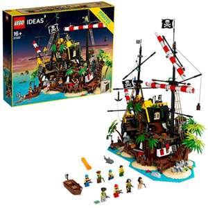LEGO Ideas - Piraten der Barracuda-Bucht (21322) 2.545 Teile