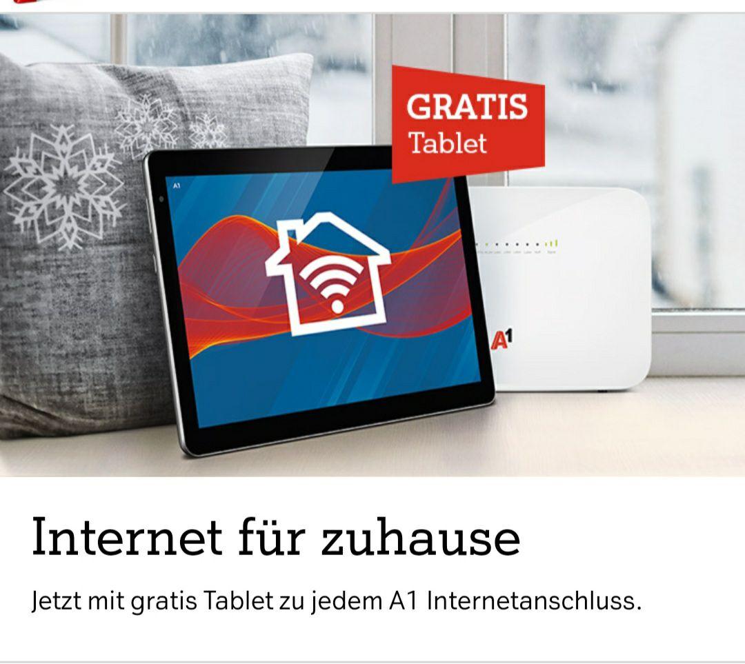 Gratis Lenovo Tablet bei Internetanmeldung bei A1