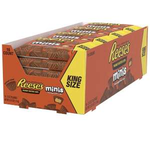 Peanut Butter Cup Minis King Size Bag - Erdnussbutter-Cup Minis Kingsize-Tüte, 16 Stück (16 x 70 g)