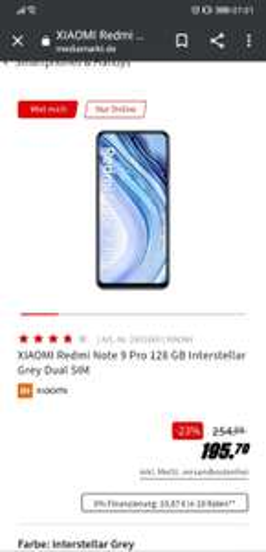 Xiaomi Red Note 9 Pro alle Farben
