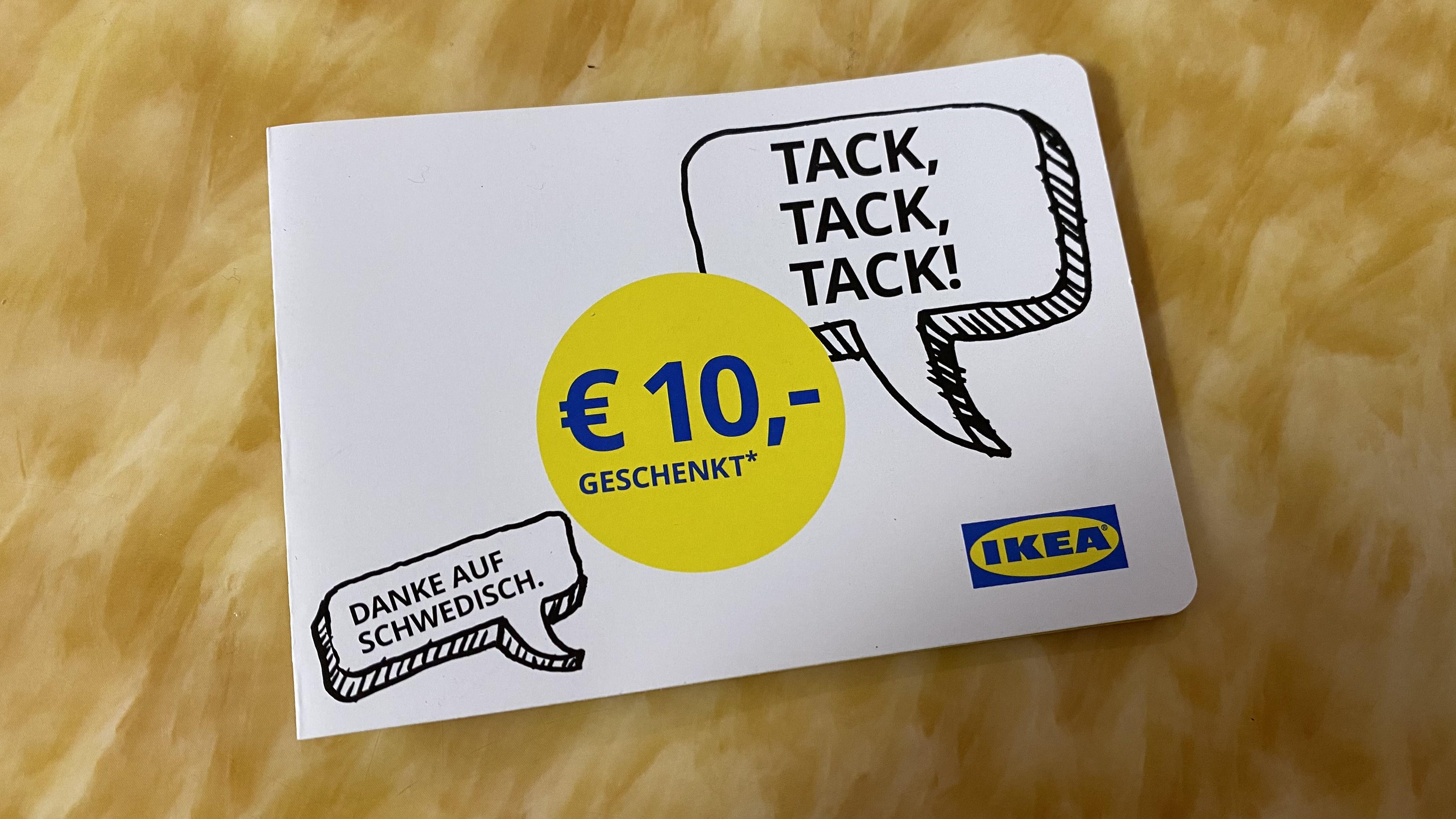 [ IKEA ] 10€ geschenkt ab einem Einkauf von 50€