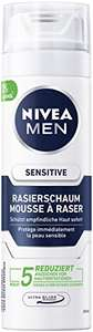 NIVEA MEN Sensitive Rasierschaum (6 x 200 ml) für 1,21 € pro Dose
