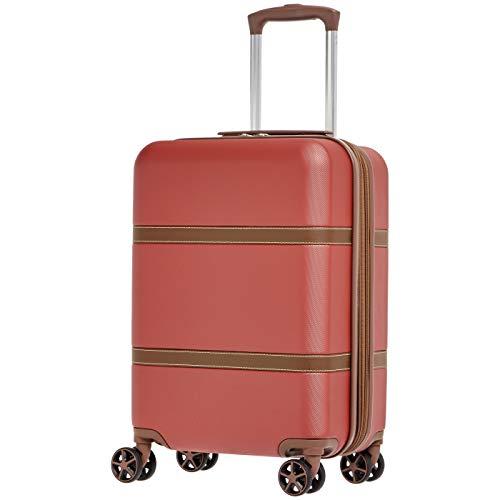 """(Amazon) Mehrere günstige Koffer ab €14,12, z.B. Hartschalen-Trolley """"Vienna"""" 55 cm, Rot"""