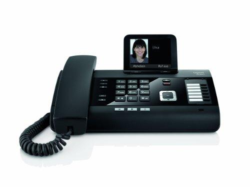"""Gigaset """"DL500A"""" - DECT Telefon + Anrufbeantworter + Farbdisplay für Hauskommunikation"""