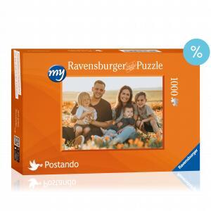 Ravensburger Puzzle mit eigenem Foto über die Postando App